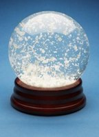 How to Make Snow Globe Glitter