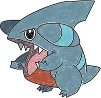 Gible the Dragon/Ground Pokémon