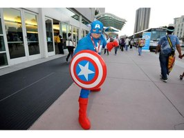 How to Make a Captain America Costume