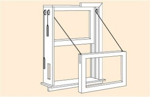 How to Install New Sash Cords in Windows