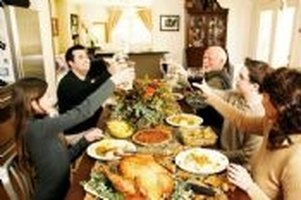 Give a Toast at Thanksgiving