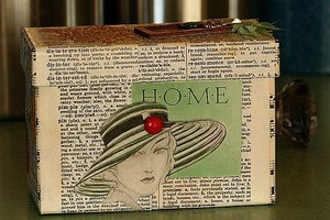 Make Your Own Recipe Card Box