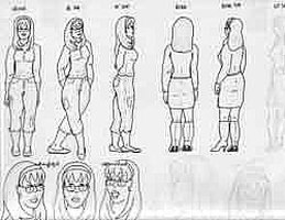 Draw a Character Model Sheet