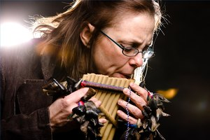 Play the Panflute