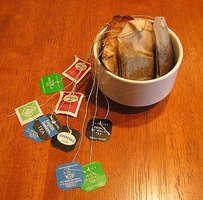 Recycle tea bags.