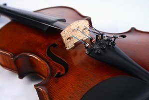 Violin chords add a dimension to music.