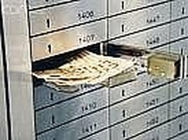 Save Valuable in Bank Safe Locker Box