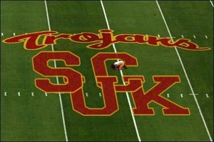 Displaying images such as this is one way to tell the Trojans how you feel.