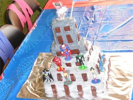 Make a Super Hero Cake