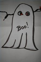 Make Halloween Ghosts Decorations