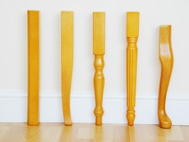 Various table legs