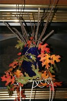 Use Autumn Leaves to Decorate a Home