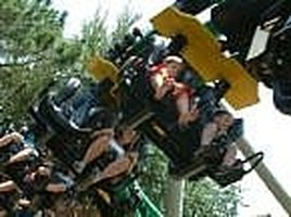 get over fear of roller coasters