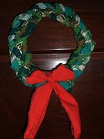 Make a Braided Christmas Wreath