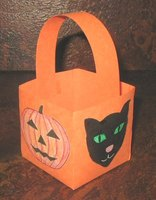 Make a Pumpkin Paper Basket
