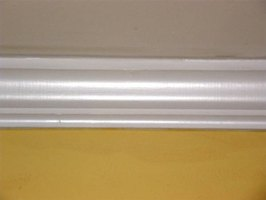 About Peel & Stick Crown Molding