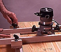 Make a router jig