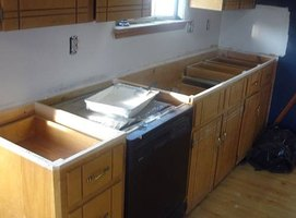 how to remove kitchen countertops | ehow