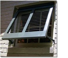 How to make bahama shutters ehow for Bahama shutter plans