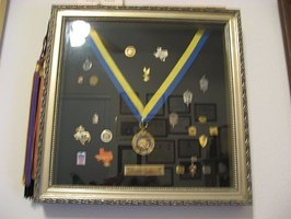 Display Medals and Pins