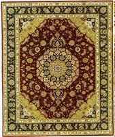 Place Furniture on Oriental Rug