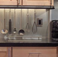 Make a Stylish Hanging Kitchen Utensil Rack and Save Money