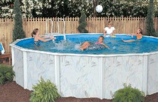 How to drain an above ground pool quickly ehow for How to drain a pool with a garden hose