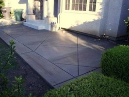 Cement patios are a great way to extend the living space of your home.