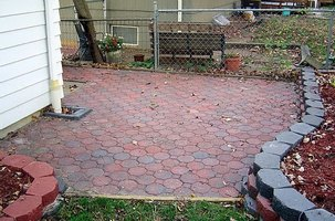 Brick Paved Patio