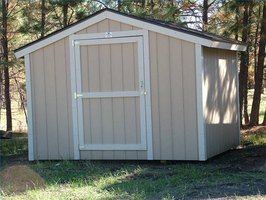 How to build a storage shed without a foundation ehow for Types of shed foundations