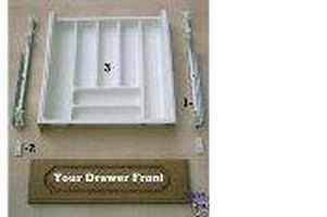 plastic cutlery drawer with slides - Plastic Kitchen Cabinet