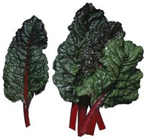 Swiss chard is a leafy green vegetable similar to spinnach.