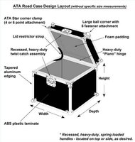 ATA Road Case Assembly Diagram