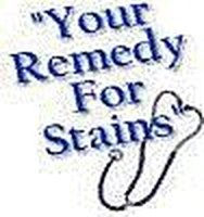 Remove a blood stain from any fabric
