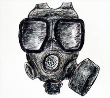 How to Draw a Gas Mask | eHow