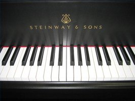 Steinway & Sons piano keyboard