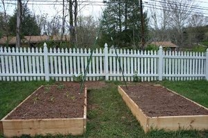 Raised beds, ready to plant