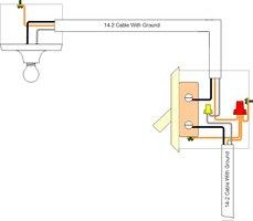 proper wiring of a single pole light switch ehow, electrical diagram, single pole light switch wiring
