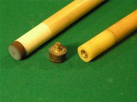 Cue Sticks: Fixed Vs. Screw Tips