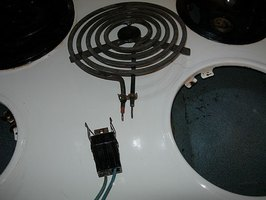 Replacing electric stove parts