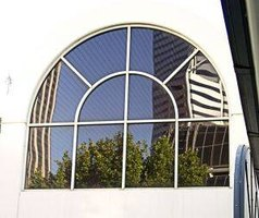 Arched Exterior Window