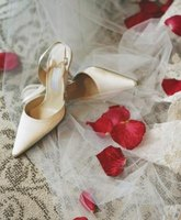 Include an extra pair of shoes in the emergency kit in case the bride breaks a heel.