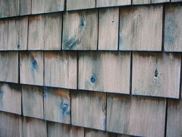 Cedar shingles need preparation before painting