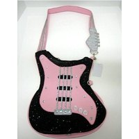 Preteens can rock out on a guitar purse.
