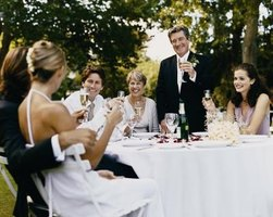 A proper toast makes a special occasion even more memorable.