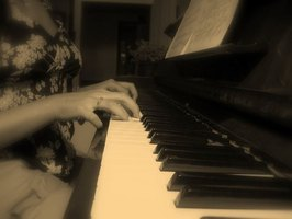 Playing Piano Chords