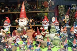 Garden gnomes and other garden greenware can be repaired with white glue.