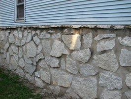 Repair Stone Foundation Walls