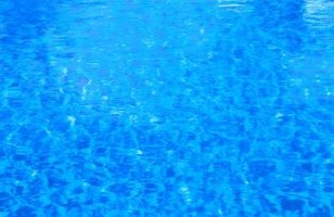 Keeping your pool well-maintained keeps the water clear.