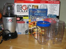 The Magic Bullet is easy to start.